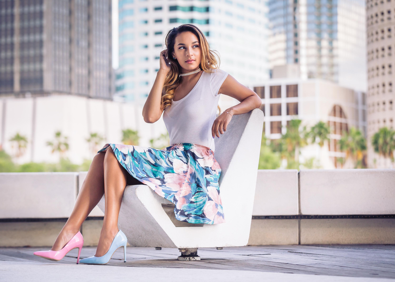 Nina Sanchez fashion photo shoot by Photographer, Chathura Jayasinghe in Tampa FL